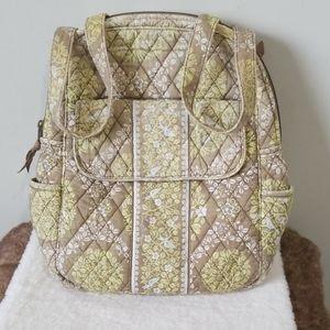Vera Bradley green backpack